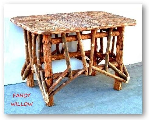 High Pointe Country Home Décor: Sundance Resort Patio Table - Handcrafted Pool and Patio Furniture