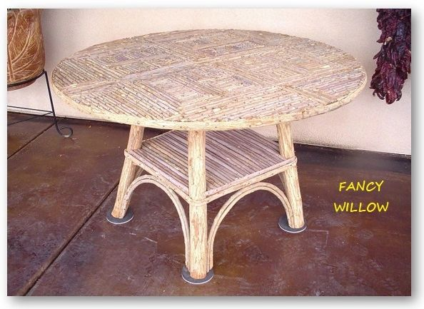 High Pointe Country Home Décor: Tahoe Farmhouse Dining Table - Handcrafted Pool and Patio Furniture
