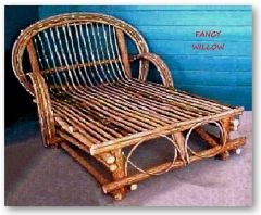 Sun Valley Country Home Décor: Frontier Beach Lover's Chaise Longue - Handcrafted Pool and Patio Furniture
