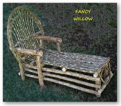 Sun Valley Country Home Décor: Tahoe Log Cabin Chaise Lounge - Handcrafted Pool and Patio Furniture