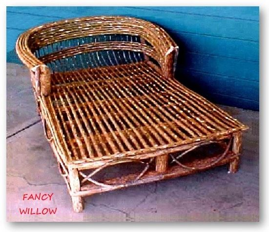 Sun Valley Country Home Décor: Ranch Cottage Lover's Chaise Lounge - Handcrafted Pool and Patio Furniture
