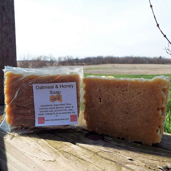 Oatmeal & Honey Bar Soap