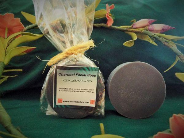 Charcoal Facial Bar Soap