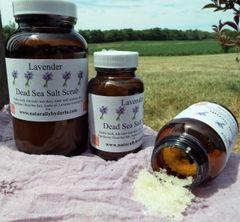 Lavender Body Scrub (Large)