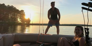 AF Wake provides overnight wakeboard and wakesurf camp on lake gast