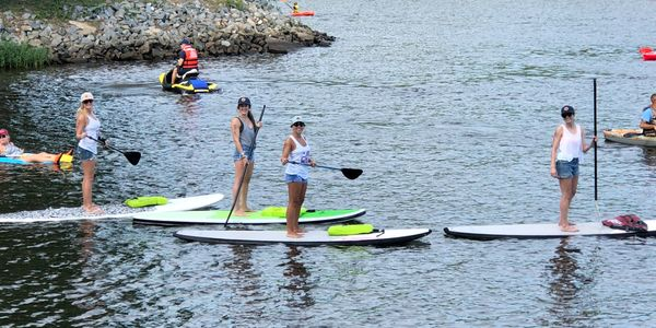 AF Wake Rents Paddleboard, Wakeboards, skis, tubes, wake surfboards and other watersport toys.