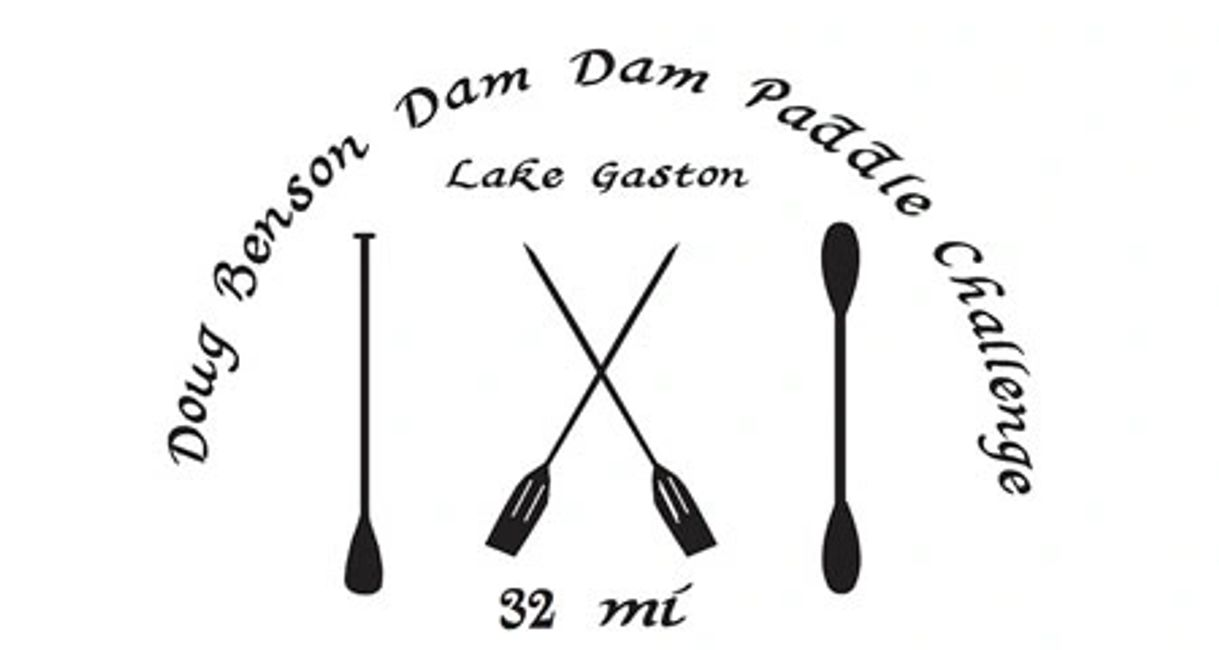 Lake Gaston Dam to Dam Paddleboard Challenge