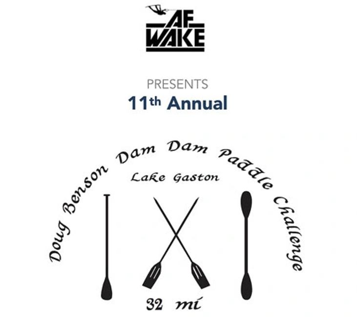 Paddleboard Race Event at AF Wake on Lake Gaston North Carolina