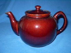 Brown Tea Pot 10 cup Rayware