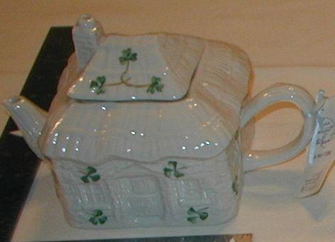Cottage Tea Pot