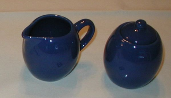 Creamer and Sugar Blue