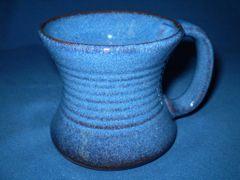 Irish Country Pottery Blue Tankard