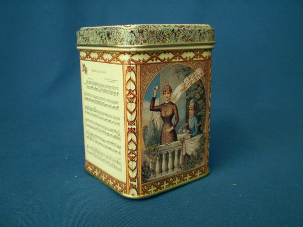 100 gram square tin Tea Waltz