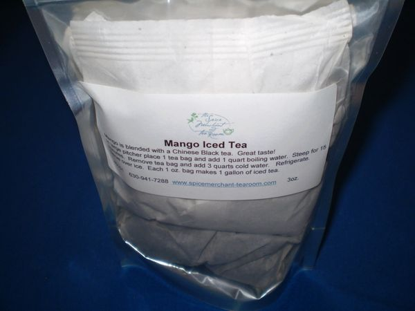 Mango Iced Tea 3oz.