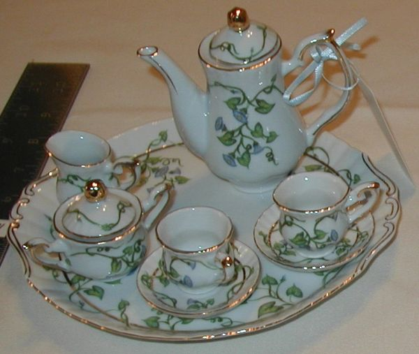 Morning Glory Mini Teaset