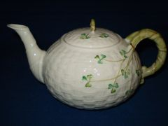 Shamrock Teapot Large