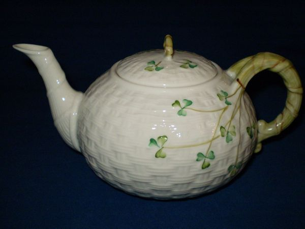 Shamrock Teapot Large