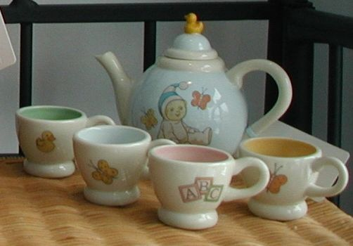 Snowbabies tea set Dept. 56