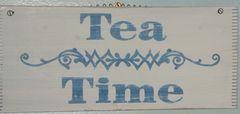 Tea time sign