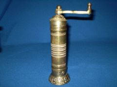 Turkish Brass Pepper Mill
