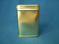 50 gram square tin Silver