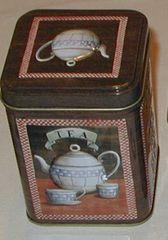 50 gram tea tin Antique