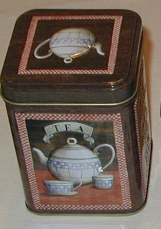 50 gram tea tin Antique