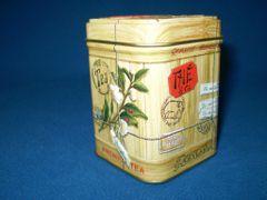 50 gram tea tin Colonial