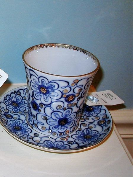 Winding Twig Cup & Saucer