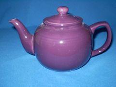 6 cup teapot - Plum