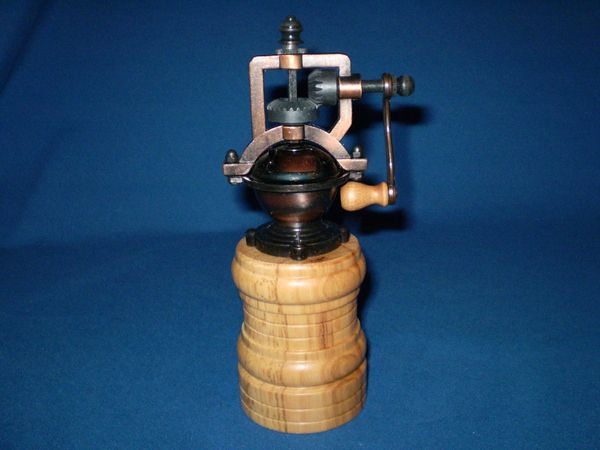 Antique pepper grinder