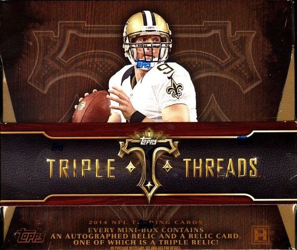 2014 Topps Triple Threads Hobby Box