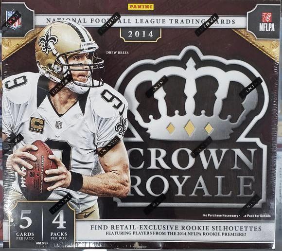 2014 Panini Crown Royale Retail Box