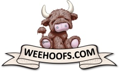 Wee Hoofs, Miniature Scottish Highland cows and Moo_re