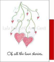 Valentine - Love Stories Greeting Card