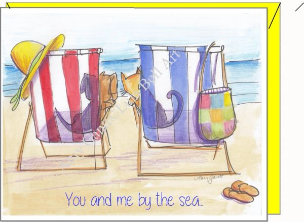Friendship - You and Me by the Sea...