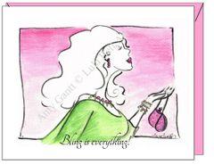 Birthday - Bling Greeting Card