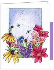 Two Bee Boxed Note Cards