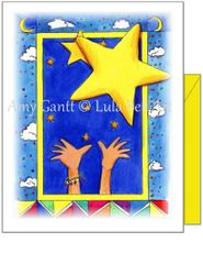 Birthday - Reach for the Stars Greeting Card