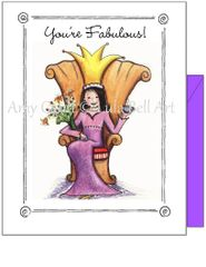 Birthday - The Queen Greeting Card