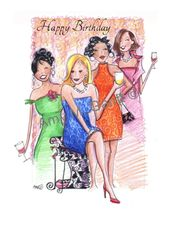 Birthday - It's a Girl Thing Greeting Card