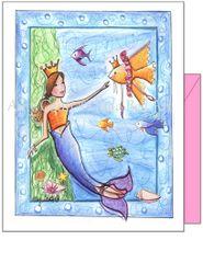 Child Birthday - Ocean Ballet Greeting Card