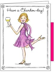 Wine - Have a Chardon-Day Boxed Note Cards