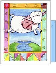 Baby - Baby Lamb Greeting Card