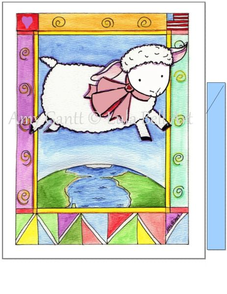 Baby - Baby Lamb Greeting Card