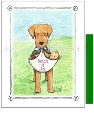 Baby - Bundle of Joy Greeting Card