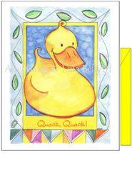 Baby - Duckie Greeting Card