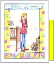 Baby - New Baby Greeting Card