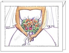 Wedding - Here Comes the Bride Greeting Card