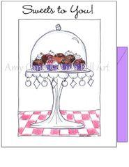 Birthday - Chocolate Treats Greeting Card